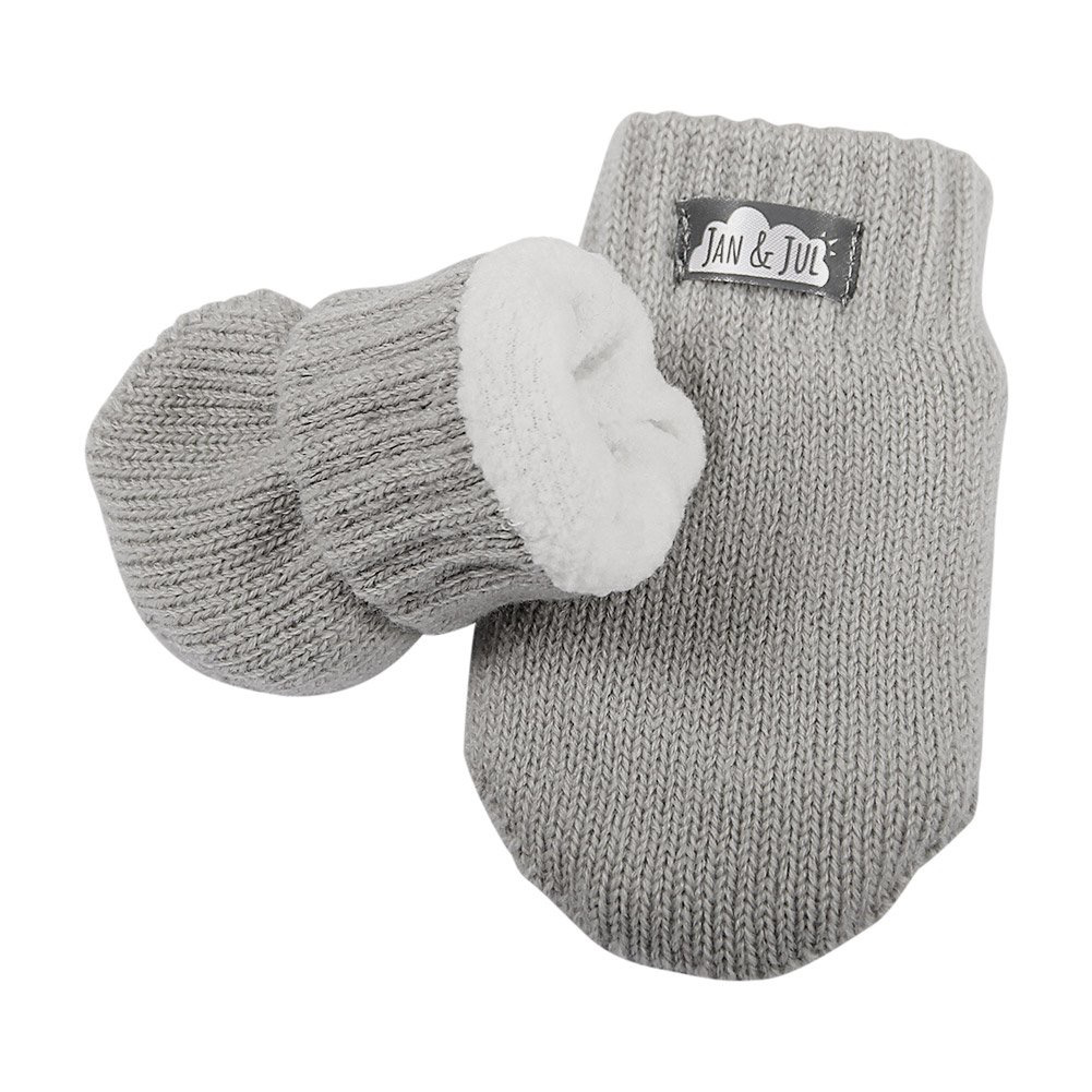 Jan & Jul Jan & Jul Knit Fleece Lined Mittens