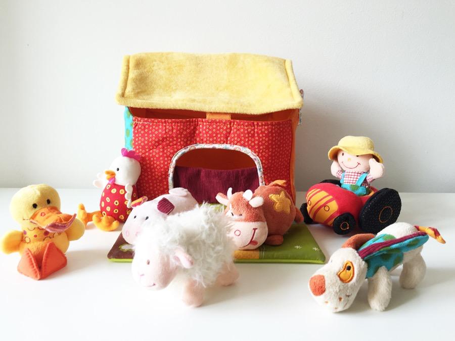 Lilliputiens The Farmhouse and Animals