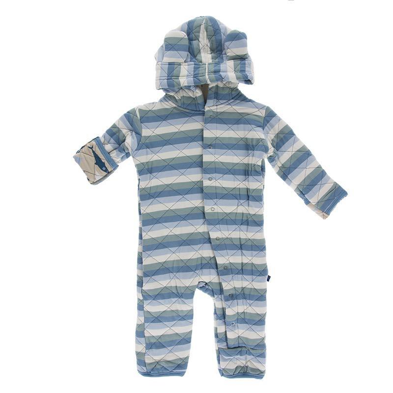 Kickee Pants Kickee Pants Oceanography Burp Cloth Set