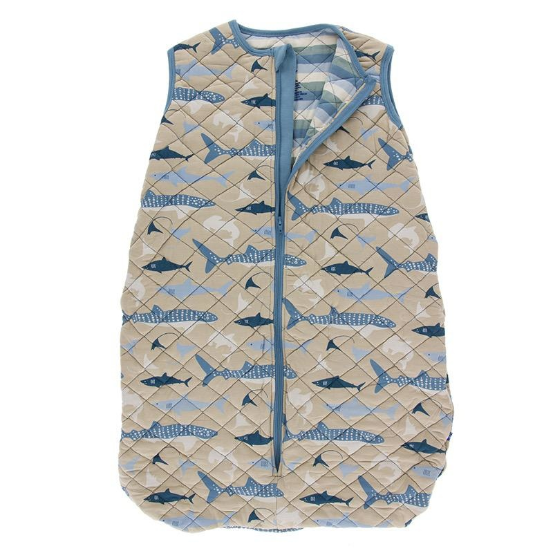 Kickee Pants Kickee Pants Oceanography Quilted Sleep Bag