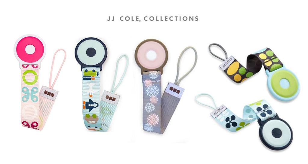 JJ Cole JJ Cole Pacifier Clip