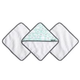 JJ Cole JJ Cole Wash Cloth and Bath Mitt