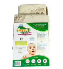 Jupiter Jupiter Oops Combi Pak - Organic Cover and Multi Use Pad
