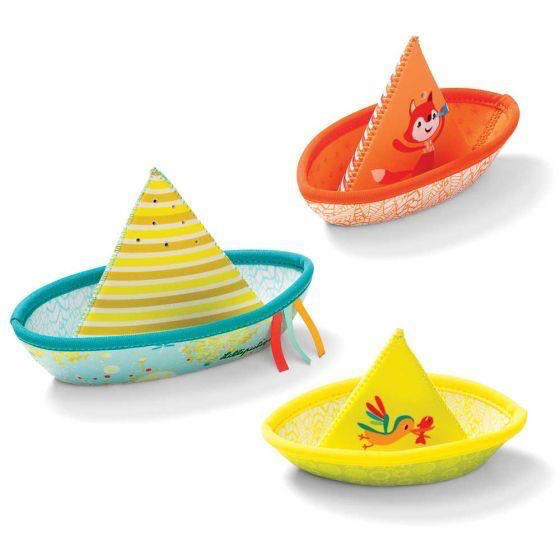 Lilliputiens Lilliputiens 3 Little Boats Bath Toy
