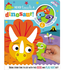 Fire the Imagination Read and Play - Never Touch a Dinosaur
