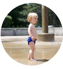 AppleCheeks AppleCheeks Swim Diaper (Solid)