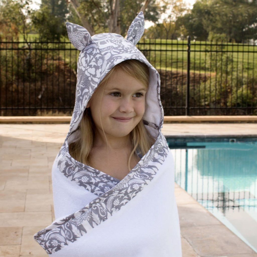 Bebe Au Lait Bebe Au Lait Toddler Hooded Towels
