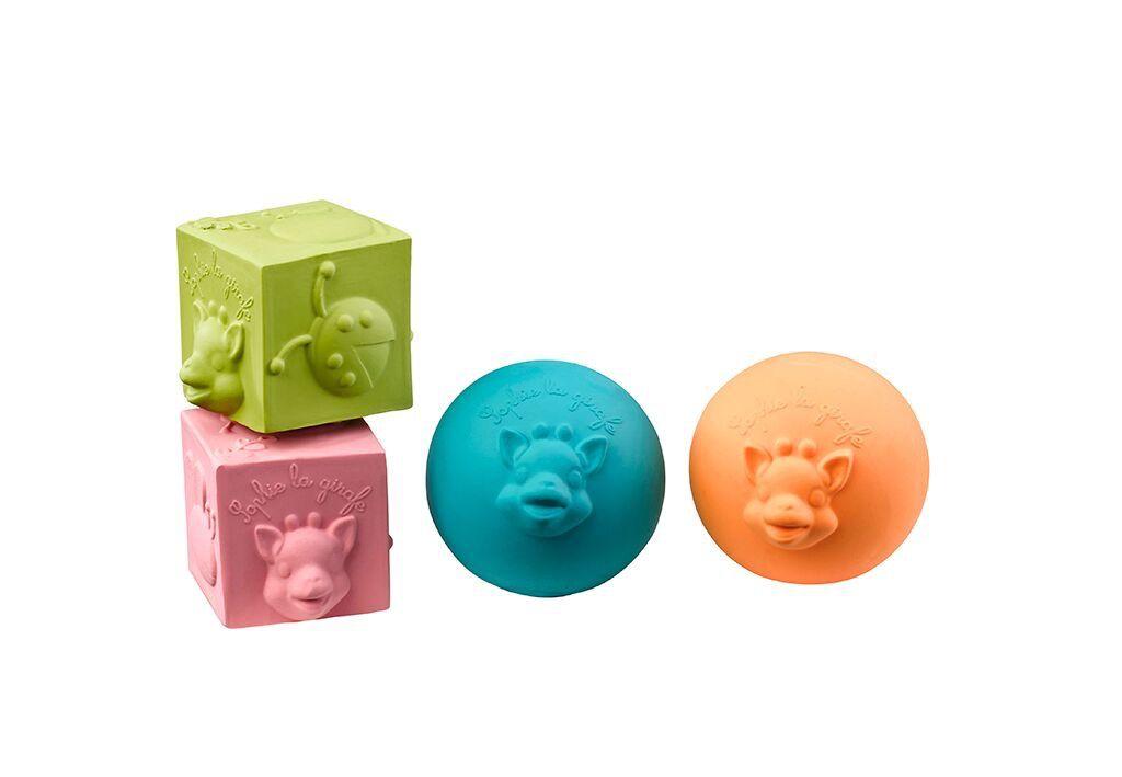 Sophie Vulli Sophie Colourful Balls/Cube Set