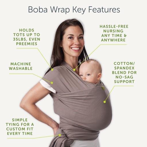 Boba Bamboo Wrap Hello Baby