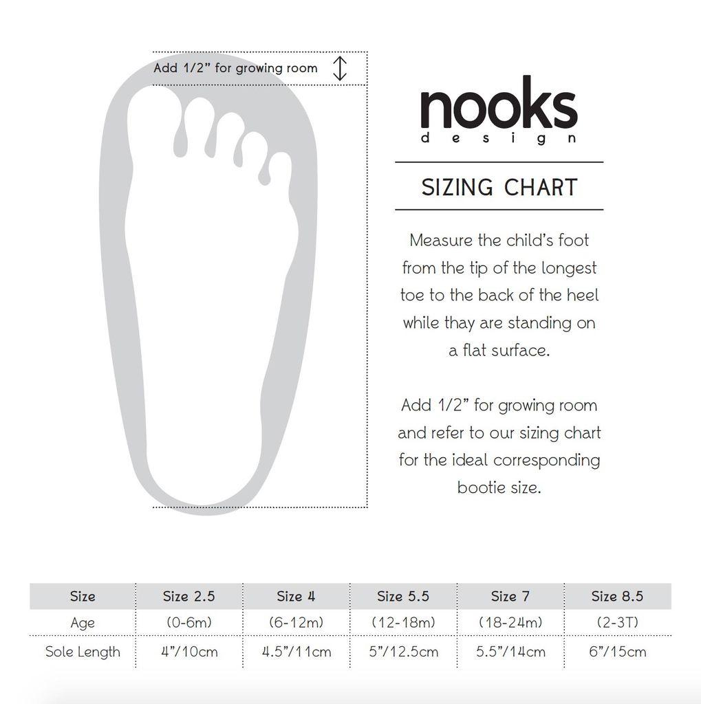 Nooks Nooks Felted Wool Booties