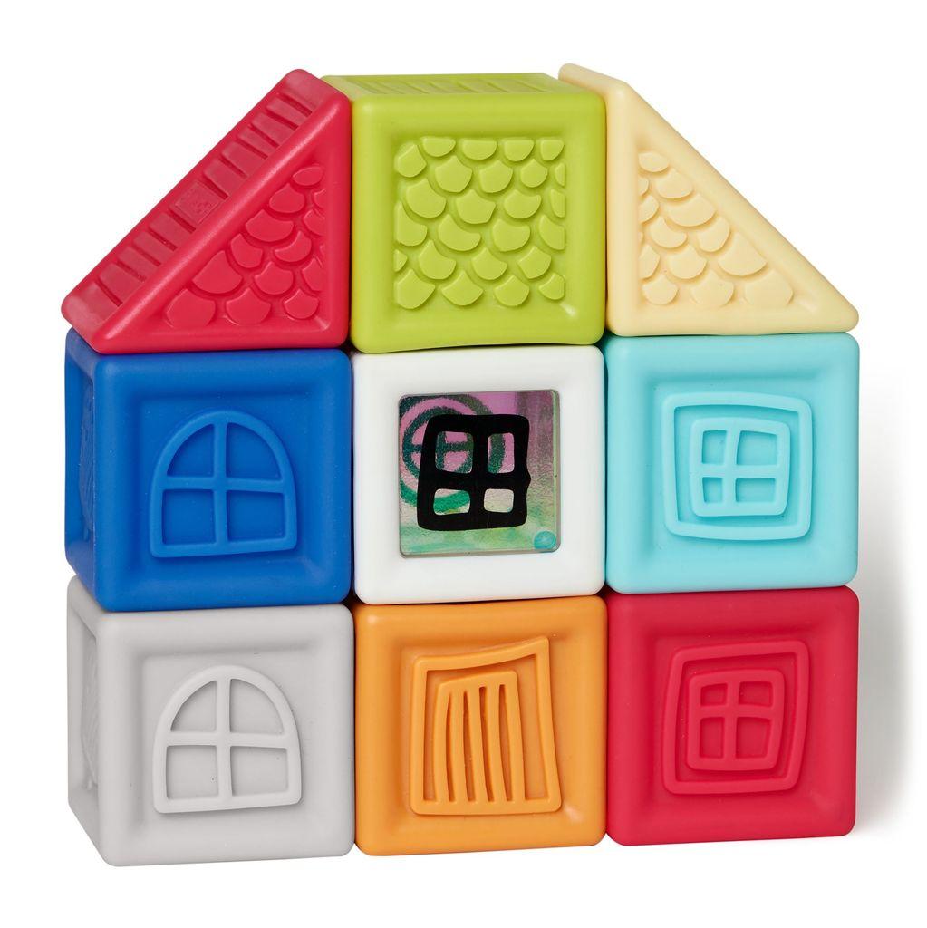 Skip Hop Skip Hop Vibrant Village Squeeze & Squeak Blocks