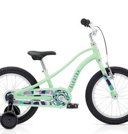 "Electra Sprocket 1 16"" Girls', Seafoam"