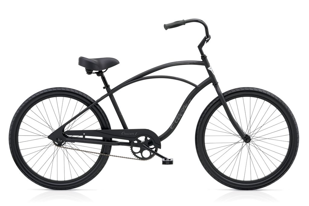 "Electra Electra Cruiser 1, 24"", Men's, Matte Black"