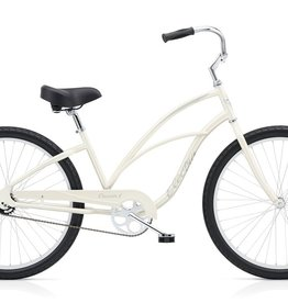 "Electra Electra Cruiser 1 24"", Ladies', Pearl White"