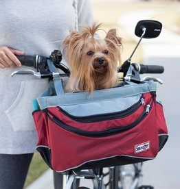 Snoozer Snoozer Sporty Bike Basket - red/black