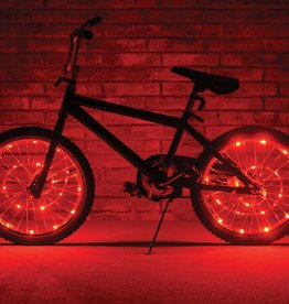 Brightz, Ltd. Wheel Brightz LED Lights Red (ONE WHEEL)