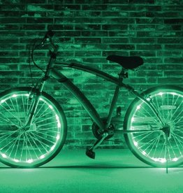 Brightz, Ltd. Wheel Brightz LED Lights Green (ONE WHEEL)