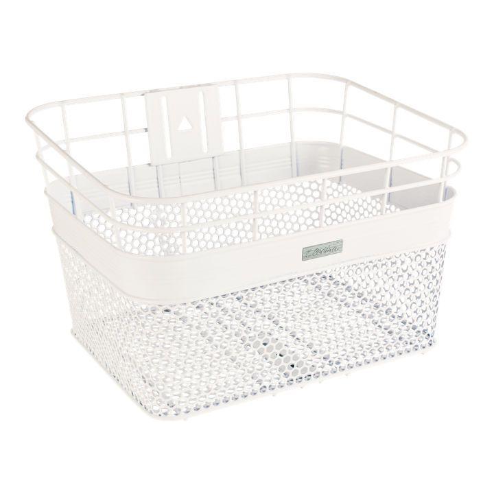 Electra Linear Mesh Basket White