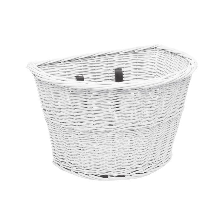 Electra Electra Wicker Basket White