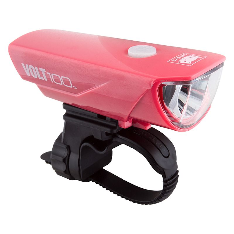 Cateye Cateye Headlight 100 Volt Pink