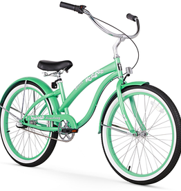 "Firmstrong Firmstrong Bella Classic 3-Speed 24"", Kids', Green"