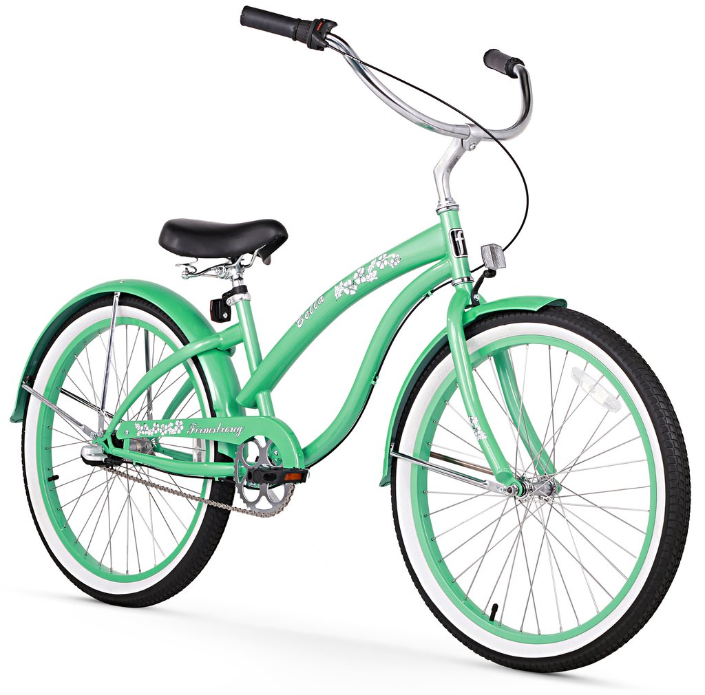"Firmstrong Bella Classic 3-Speed 24"", Kids', Green"