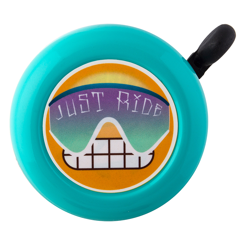 SunLite SunLite Bell Emoji Teal Just Ride