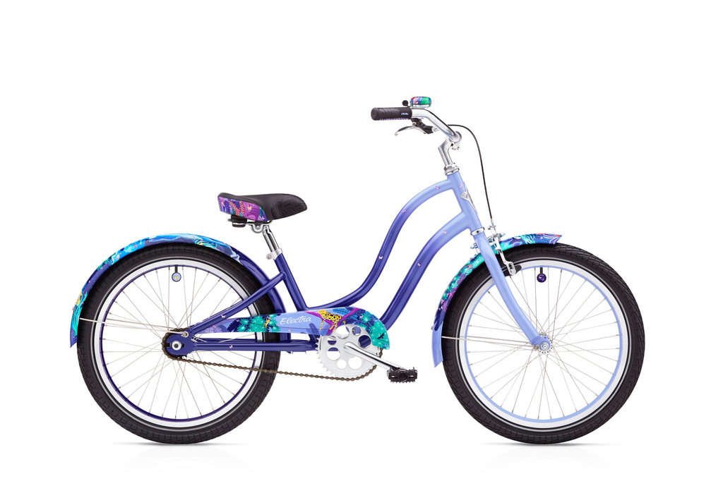 "Electra Electra Enchanted Jungle 1 20"" Girls Periwinkle Fade"