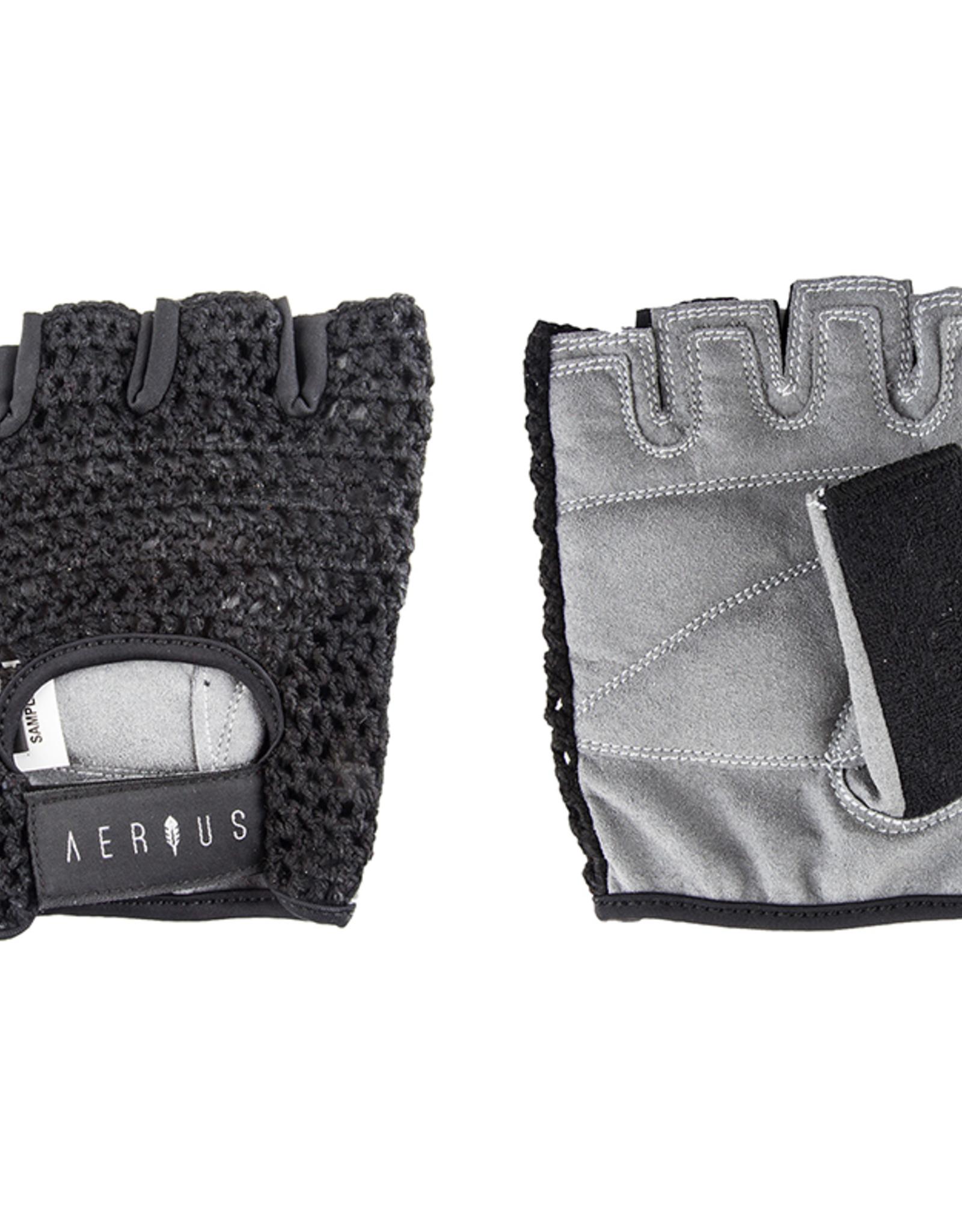 Airius Aerius Retro Mesh Gloves, Large, Black