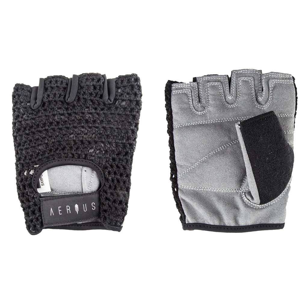 Airius Airius Retro Mesh Gloves, Small, Black