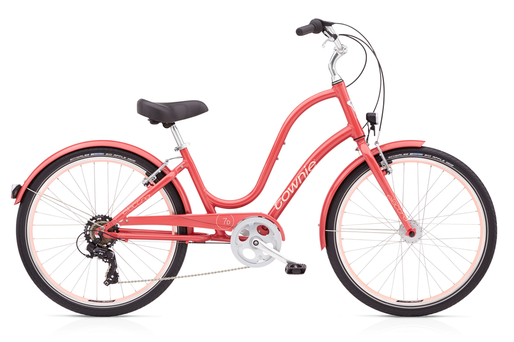 "Electra Townie Original 7D EQ, 24"", Ladies', Curry"
