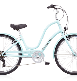"Electra Townie Original 7D EQ, 24"", Ladies', Arctic Blue"