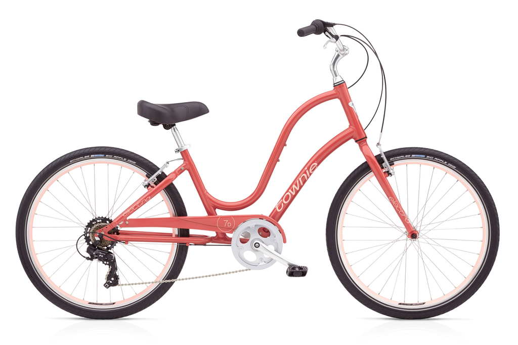 "Electra Electra Townie Original 7D, 24"", Ladies', Curry"
