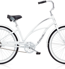 "Electra Electra Cruiser Lux 1, 24"", Ladies', White"