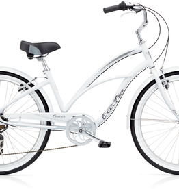 "Electra Electra Cruiser Lux 7D, 24"", Ladies', White"