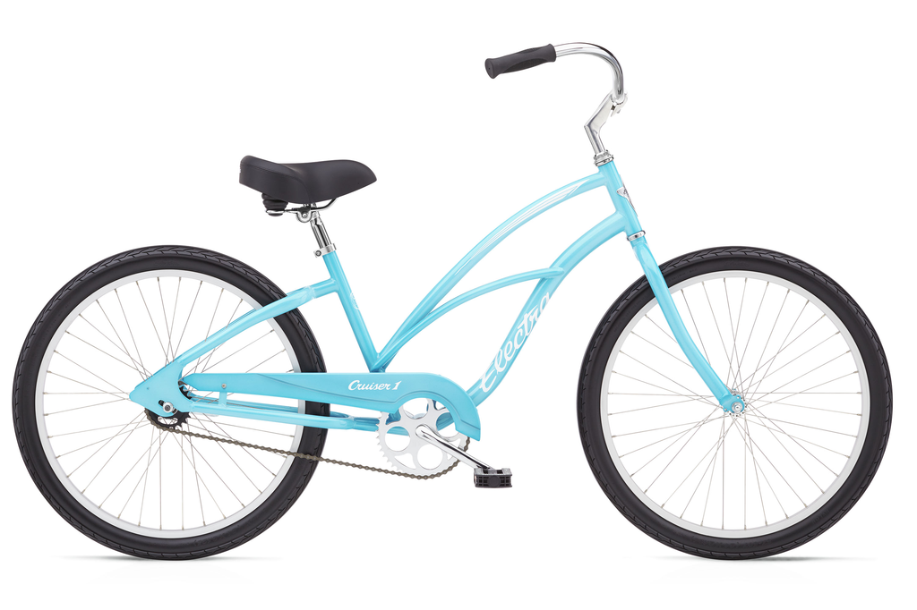 "Electra Electra Cruiser 1, 24"", Ladies', Bora Bora Blue"