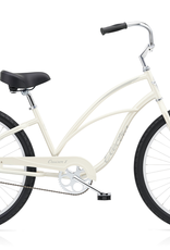 "Electra Electra Cruiser 1, 24"", Ladies', Pearl White"