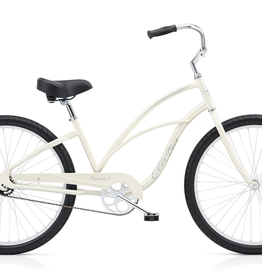 "Electra Electra Cruiser 1, 24"", Ladies', Pearl White"
