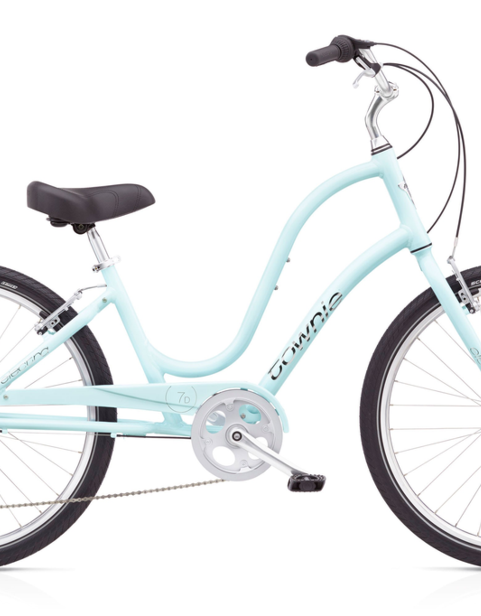 "Electra Electra Townie Original 7D, 24"", Ladies', Arctic Blue"