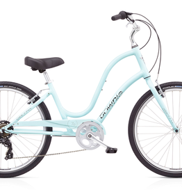 "Electra Townie Original 7D, 24"", Ladies', Arctic Blue"