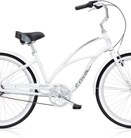 "Electra Electra Cruiser Lux 3i 24"", Ladies'', White"