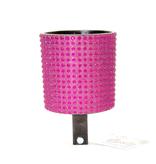 Cruiser Candy Hot Pink and Black Rhinestone Drink Holder