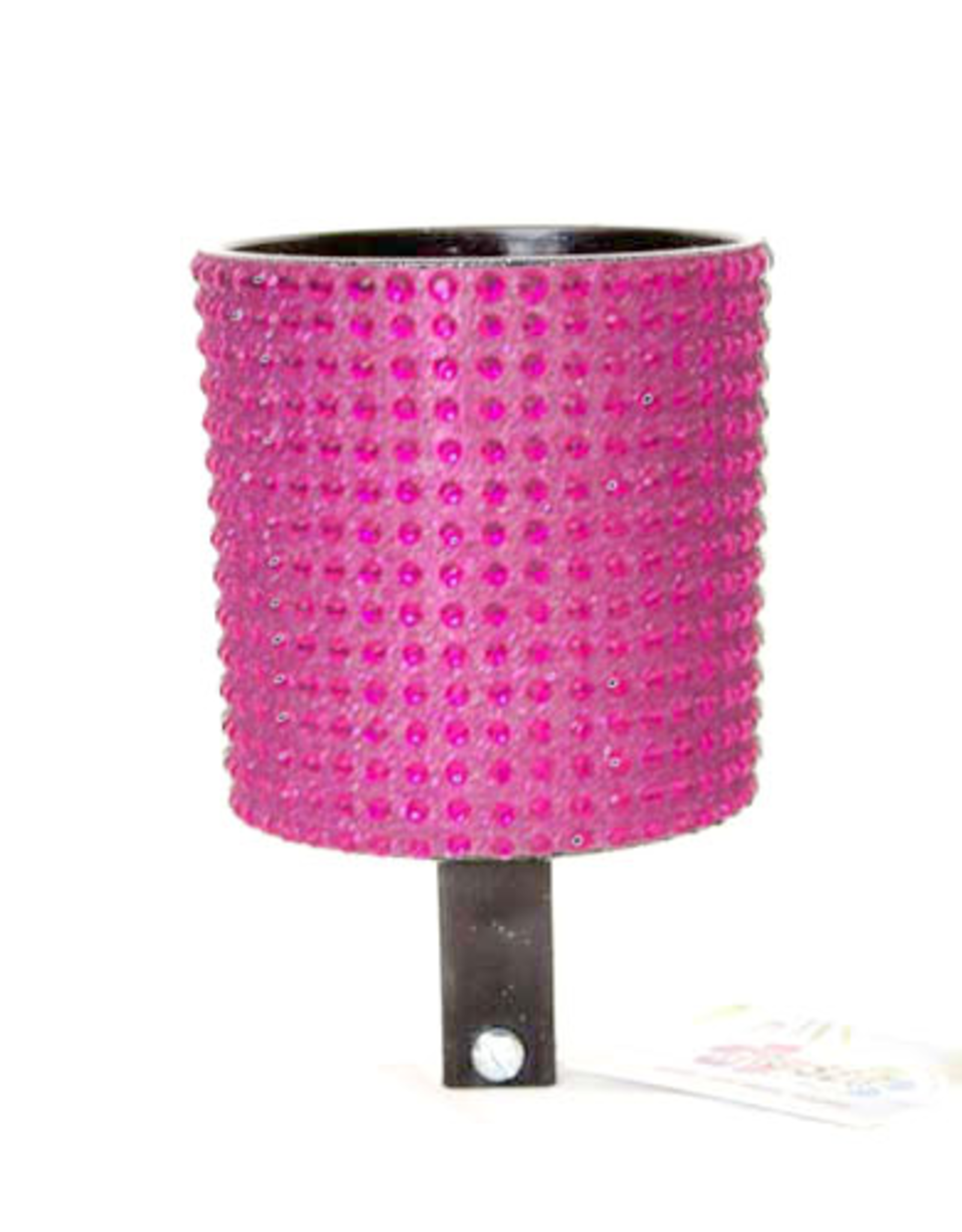 Cruiser Candy Hot Pink and Black Rhinestone Drink Holder