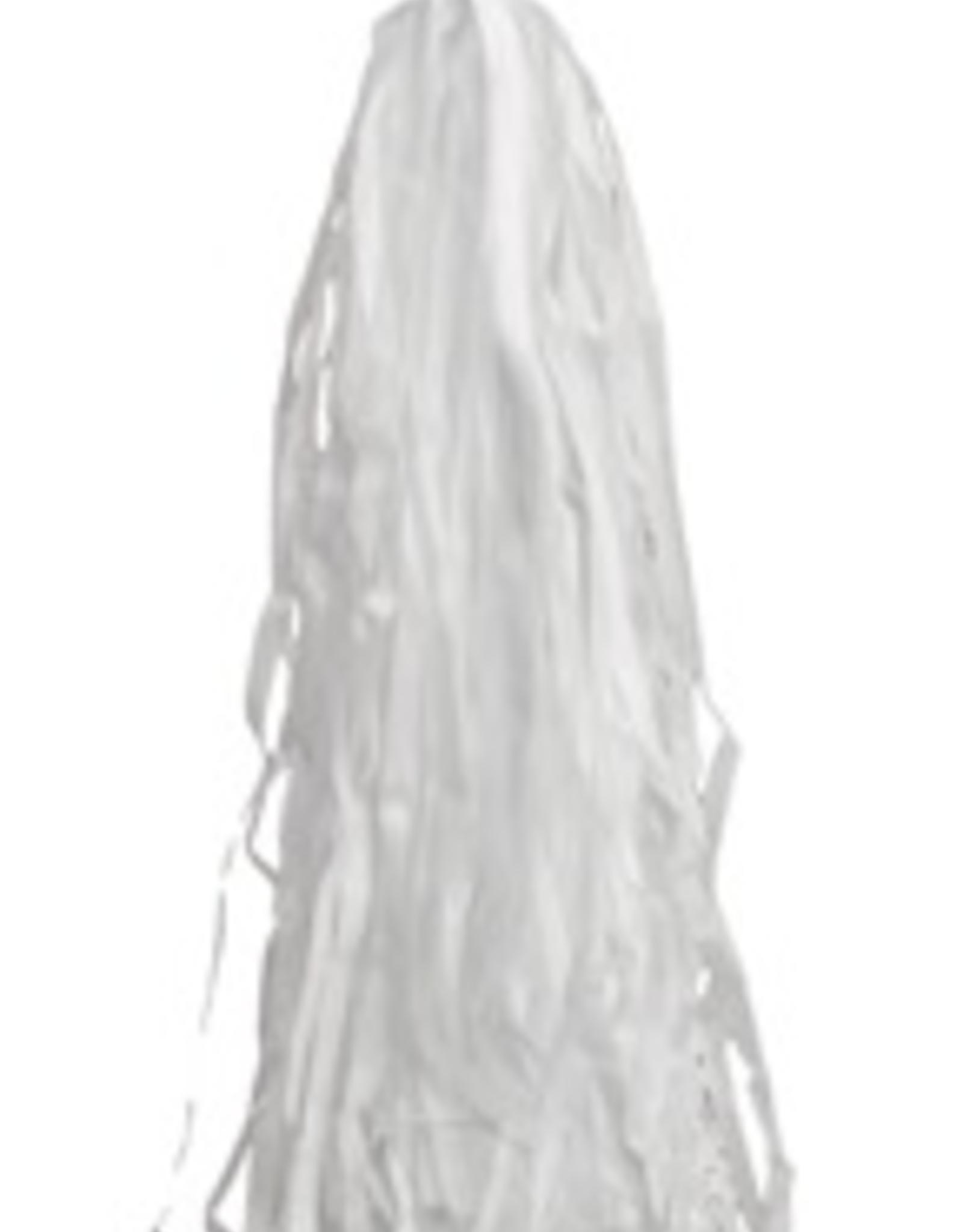 SunLite White handlebar streamers
