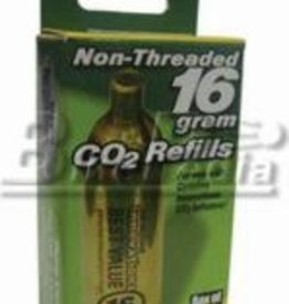 Innovations in Cycl. Innovations Co2 16g Non Threaded Inflation Cartridge Box of 2(DISCONTINUED)