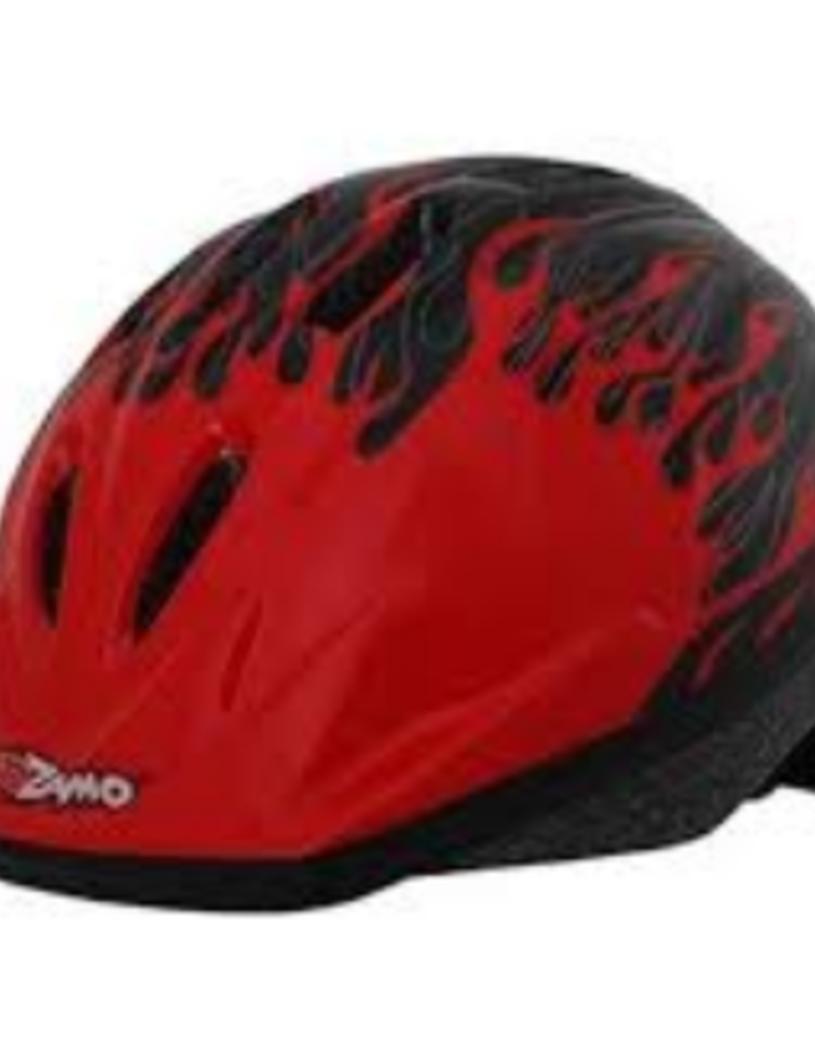 J & B Importers Kidzamo Helmet SM-MD Flame RED/BLACK