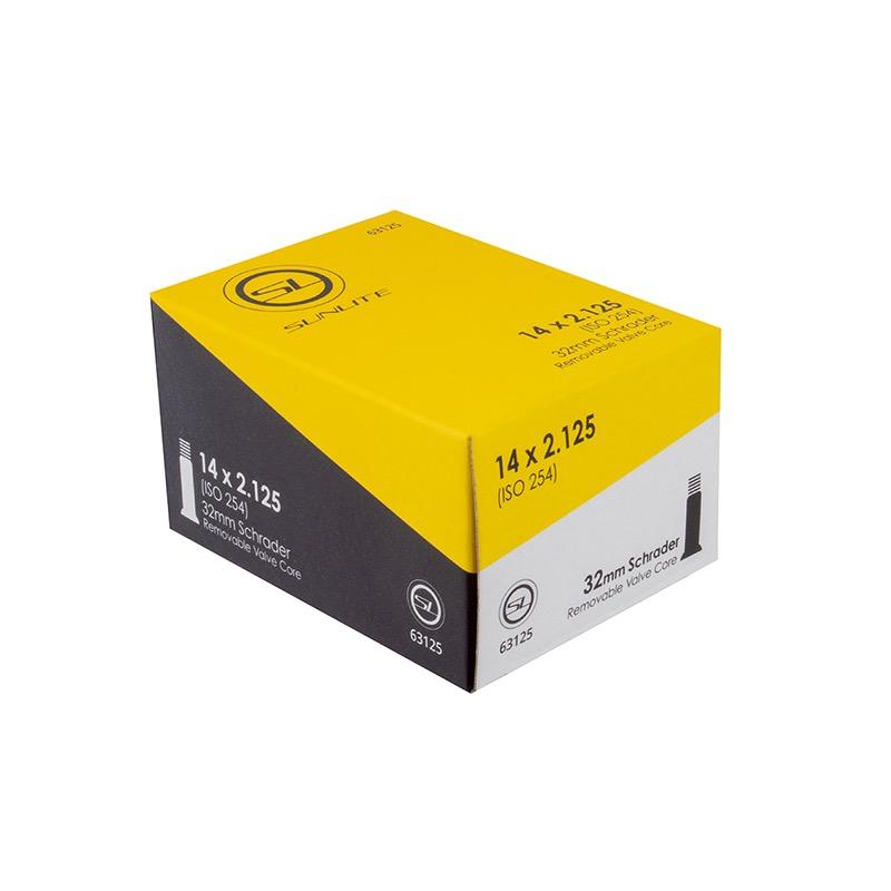 SunLite SunLite 14x2.125 Tube 32mm Schrader