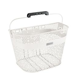 Basket Electra Linear QR Mesh White, Front