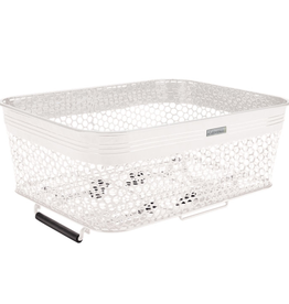 Electra Electra Linear QR Mesh White Basket w/ Net
