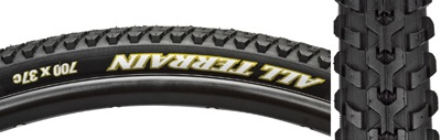 WTB WTB 700x37 All Terrain Tire, Black/Black